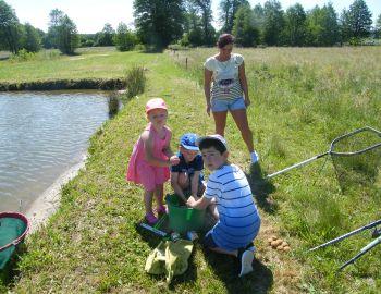 Ostrowscy wędkarze dzieciom czyli Wędkarski Dzień Dziecka